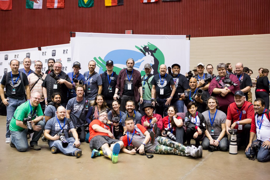Official photographers of the 2014 Blood & Thunder Roller Derby World Cup held in Dallas, Texas.